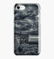 Abandoned in Goldboro Nova Scotia iPhone Case/Skin