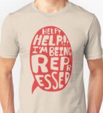 Help Help Unisex T-Shirt