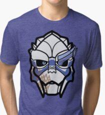 Garrus Vakarian - Flat Tri-blend T-Shirt