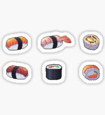 Sushi Pixel Art Sticker