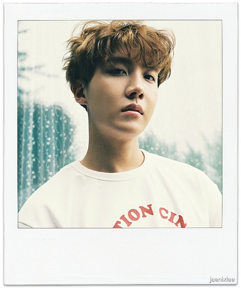 Quot Bts J Hope Polaroid Quot By Jaenixlee Redbubble
