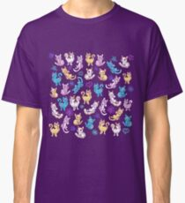 Colourful Kitty cat pattern Classic T-Shirt