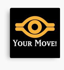 Your Move - Yu-Gi-Oh! Canvas Print