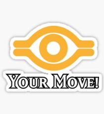 Your Move - Yu-Gi-Oh! Sticker
