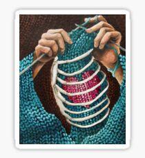 Knitted Love Sticker
