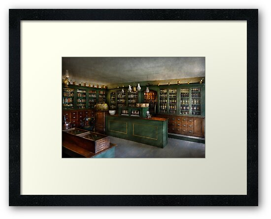 Pharmacy - The Chemist Shop  by Michael Savad