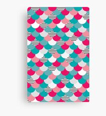 Scale Pattern Canvas Print