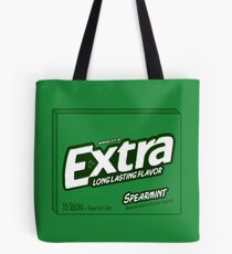 Extra Spearmint Gum Tote Bag