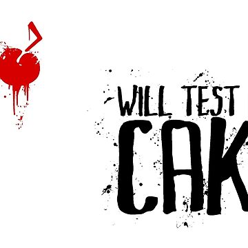 Will Test For Cake: Portal by gamingapparel