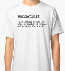Camiseta clásica Pasión de viajar