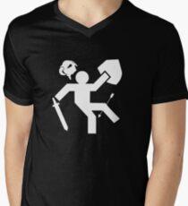 Arrow To The Knee Skyrim Mens V-Neck T-Shirt