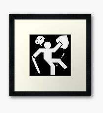 Arrow To The Knee Skyrim Framed Print