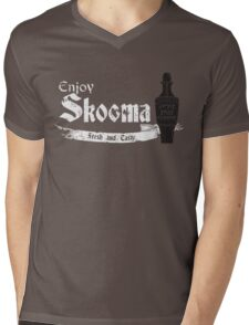Enjoy Skooma: The Elder Scrolls Mens V-Neck T-Shirt