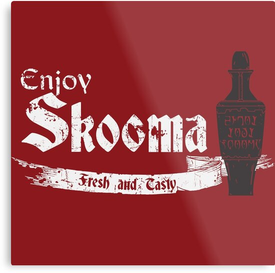 Enjoy Skooma: The Elder Scrolls by gamingapparel