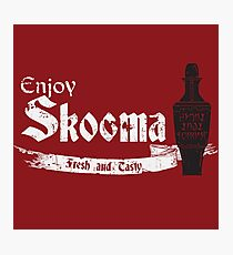 Enjoy Skooma: The Elder Scrolls Photographic Print