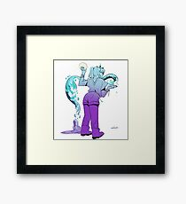 Tidal Witch (gradient)  Framed Print