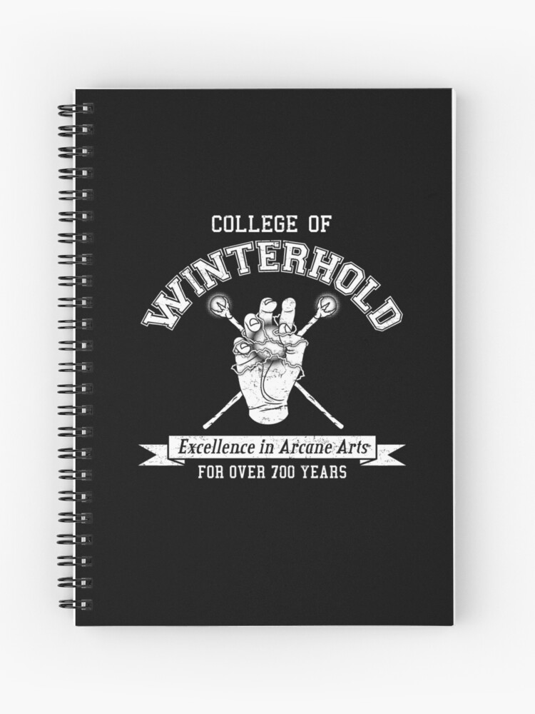 Skyrim - College of Winterhold | Spiral Notebook
