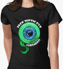 Jack Like A Boss Big Eye Womens Fitted T-Shirt