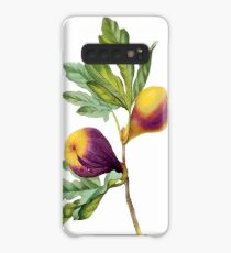 Vintage Botanical Print, Fig by Redoute Case/Skin for Samsung Galaxy