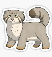 Pallas Cat Disapproves  Sticker
