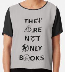0590 Sie sind Bücher nicht nur Chiffontop