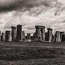 Stonehenge  in Toned Monochrome by photograham