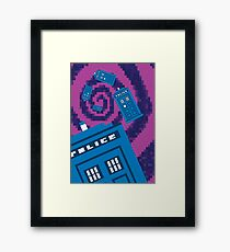 Pixel Who? Framed Print