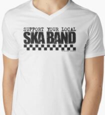 Support Your Local Ska Band T-Shirt
