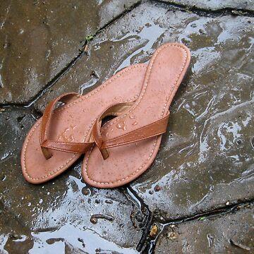 Flip Flops in the Rain by MagnumCreative