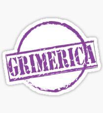 Grimerica Passport Stamp Sticker
