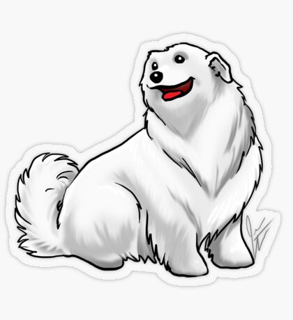 Great Pyrenees Transparent Sticker