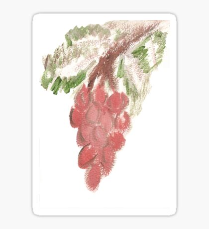 Great Grapes Sticker
