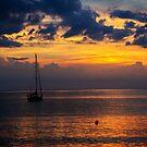 Sunset off Northern Bali by BaliBuddha