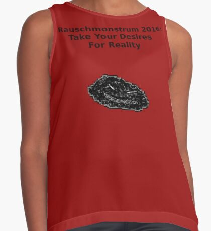 Take Your Desires For Reality Sleeveless Top