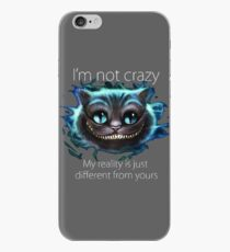 Cheshire Cat Quote iPhone Case