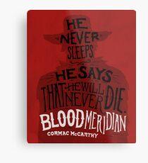Lienzo metálico Blood Meridian Lámina