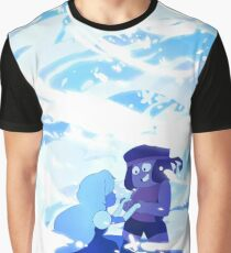 Here Comes a Thought - Steven Universe, Ruby & Sapphire Graphic T-Shirt
