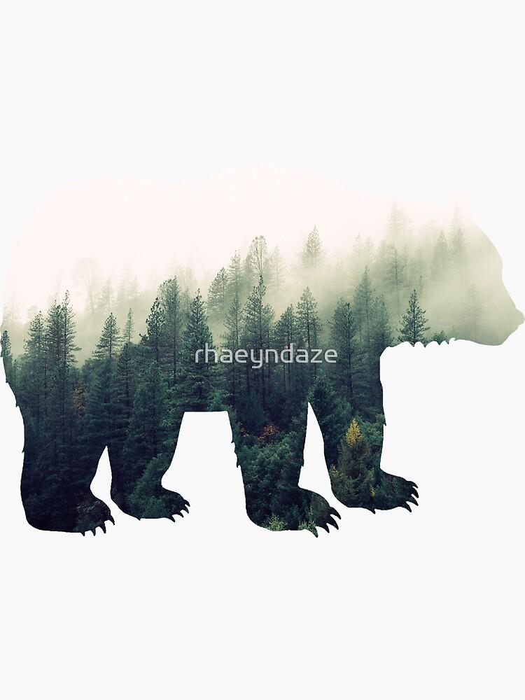 Bär im Wald von rhaeyndaze