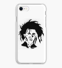 EDWARD SCISSORHANDS FACE iPhone Case/Skin
