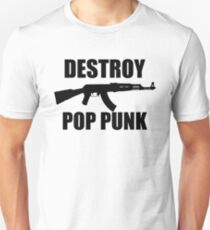 Destroy Pop Punk (Black) Unisex T-Shirt