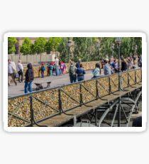 Ponts des Arts Footbridge, Paris, France Sticker