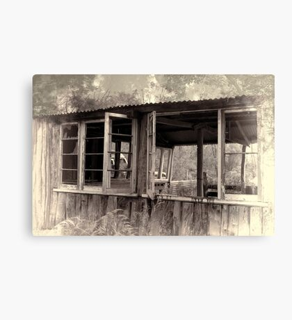The Old Shack Canvas Print