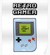 RETRO GAMER HANDHELD Game Console Poster