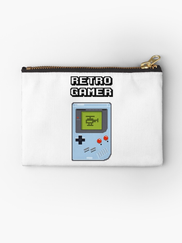 'RETRO GAMER HANDHELD Game Console' Studio Pouch by zapposh