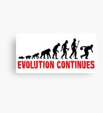 Ten Pin Bowling Evolution Continues Canvas Print