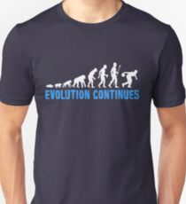 Evolution Of Ten Pin Bowling Funny T Shirt Unisex T-Shirt