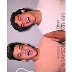 Grayson and Ethan laughing <3 by MissGG18