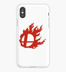 Red Smash Ball iPhone Case/Skin