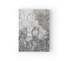 Memories of ancient knights Hardcover Journal