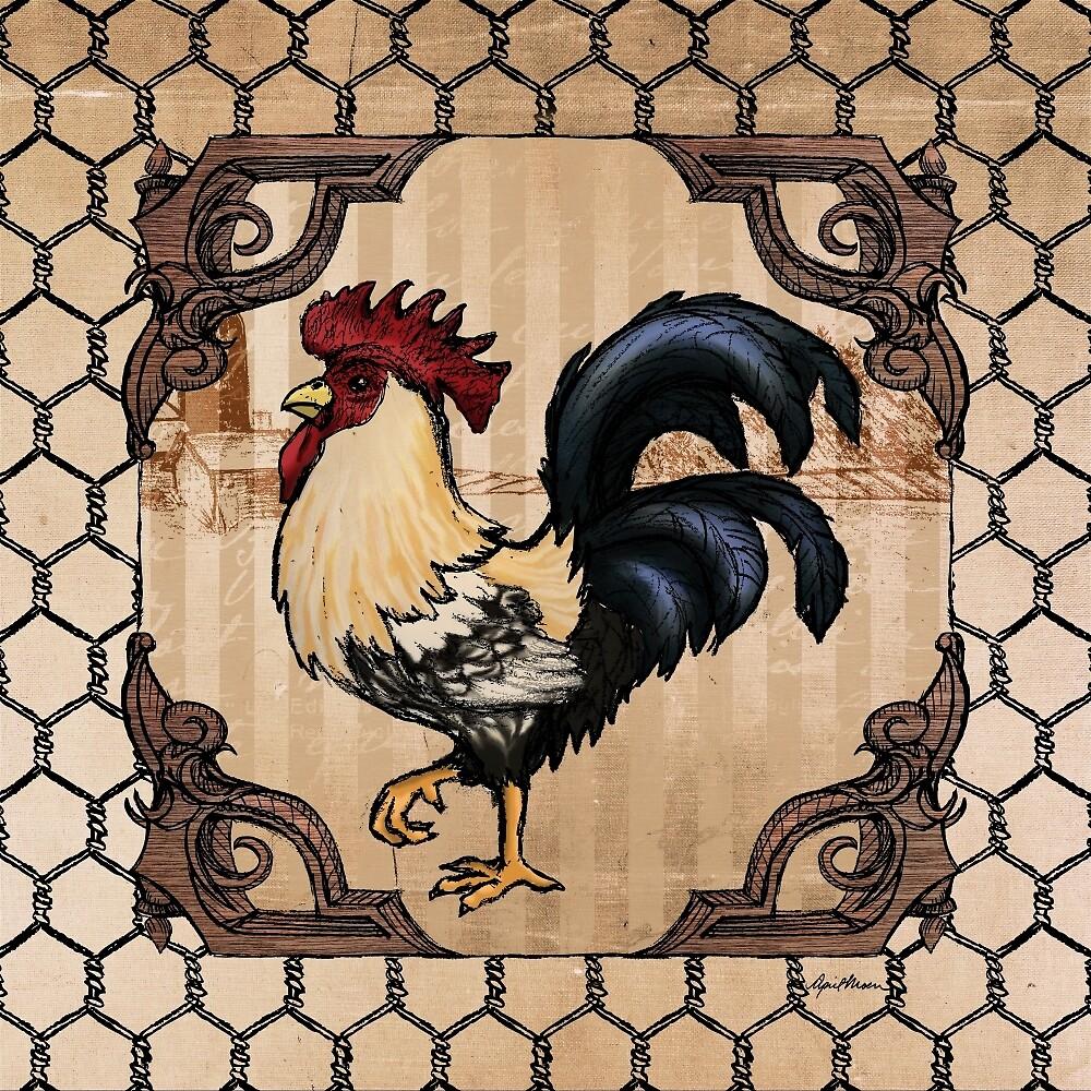 Rooster II by April  Moen